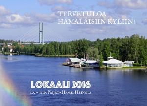 Lokaali 2016 valtaa Heinolan syyskuussa
