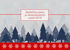 Rauhallista joulua!